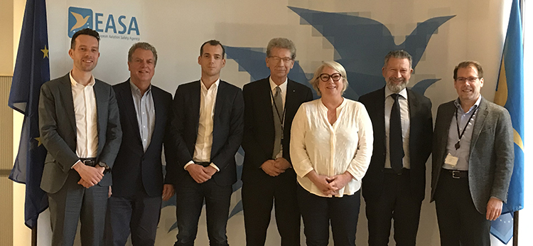 UECNA and T&E connected with EASA