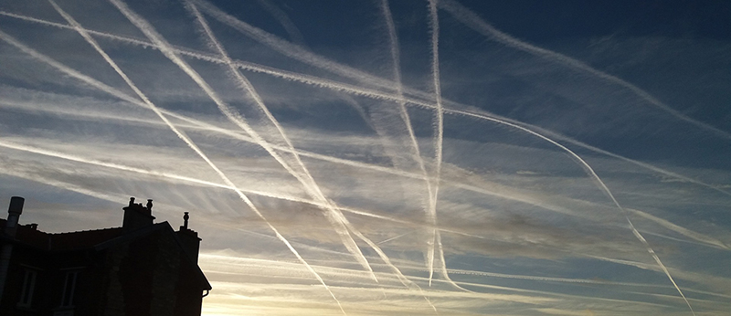 Narrow, concentrated flight paths coming our way…